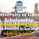 University of Ghent Scholarship