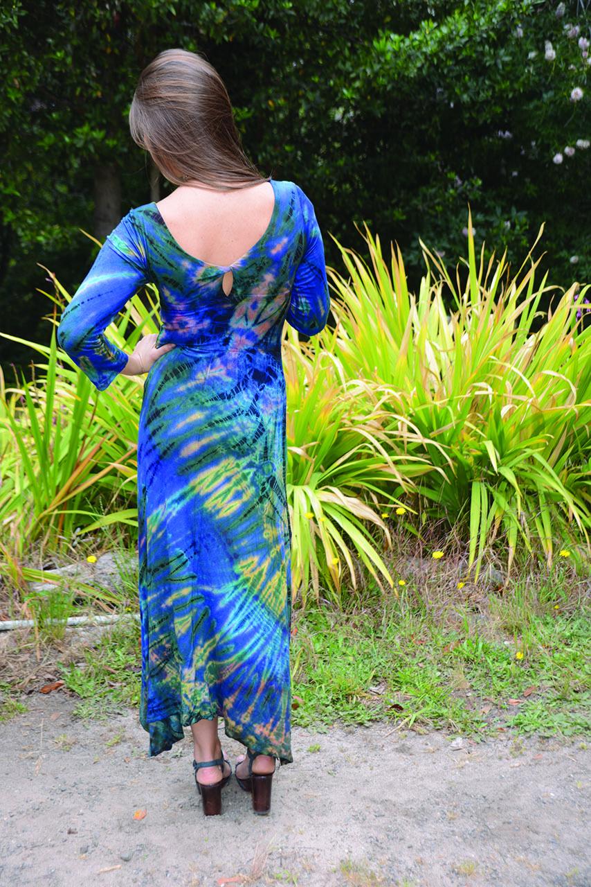 Tie Dyed Maxi Dress Jayli