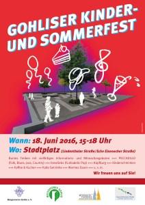 Gohliser Kinder- und Sommerfest 2016