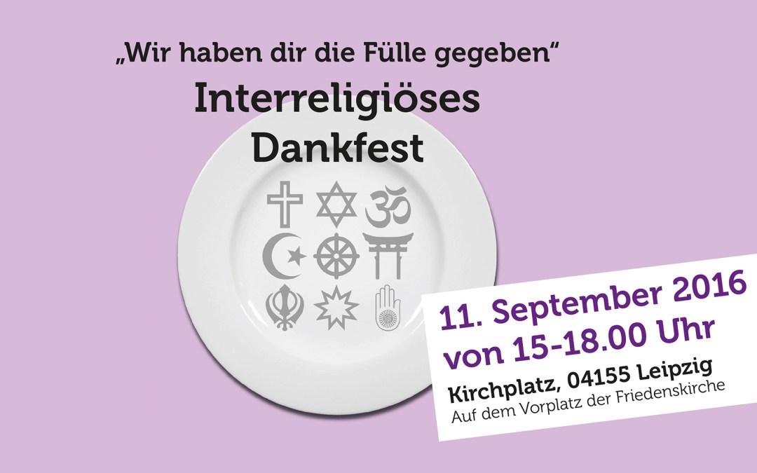 Interreligöses Dankfest 2016