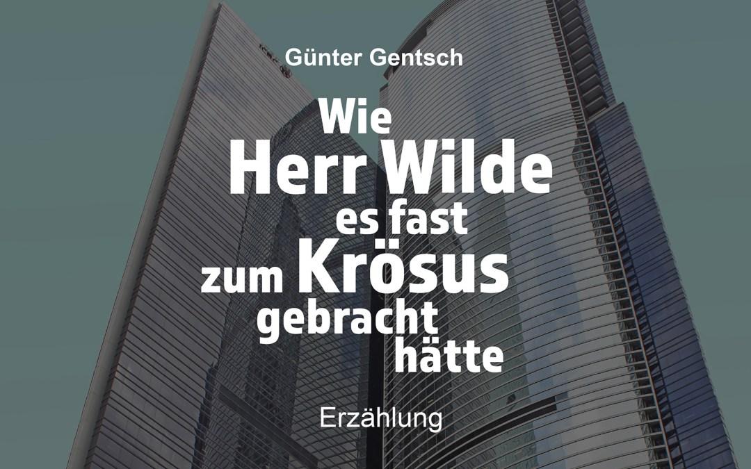 Lesung und Gespräch mit Günter Gentsch im Bürgerverein