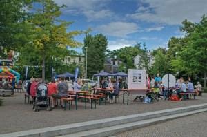 Das Gohliser Kinder- und Sommerfest auf dem Stadtplatz 2016; Foto: Andreas Reichelt