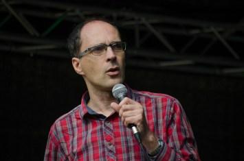 Matthias Reichmuth kündigt den nächsten Programpunkt an; Foto: Andreas Reichelt
