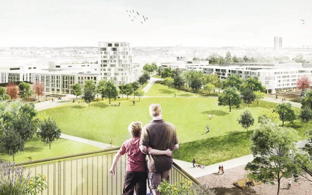 Siegerentwurf Freiladebahnhof Eutritzsch: Octagon Architekturkollektiv