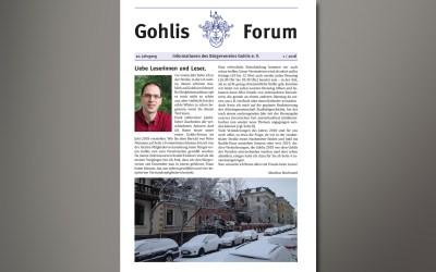 Gohlis Forum 1/2018 erschienen