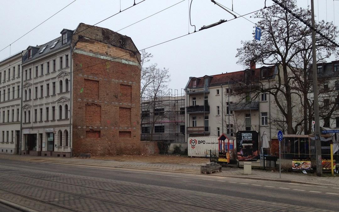 Wohnraum in Gohlis vernichtet