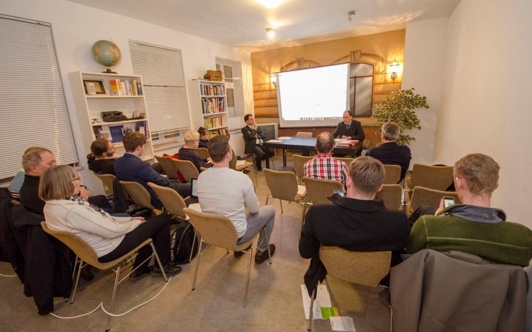 Mitgliederversammlung des Bürgervereins Gohlis e. V.; Foto: Andreas Reichelt