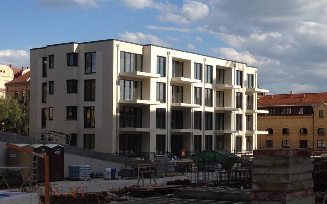 Neubau Fleissnerstraßse; Foto: Wolfgang Leyn