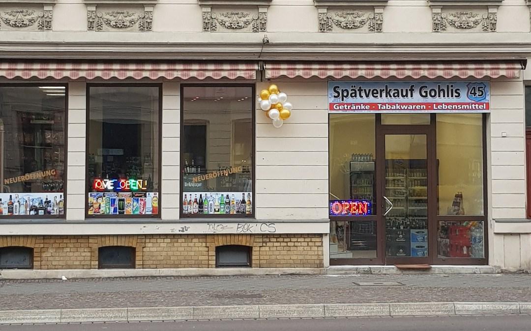 Spätverkauf in Gohlis, Foto: Tino Bucksch