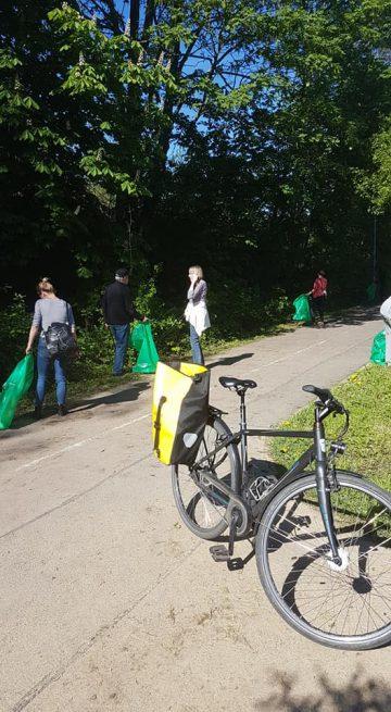 Frühjahrsputz mit dem Bürgerverein Gohlis e.V.