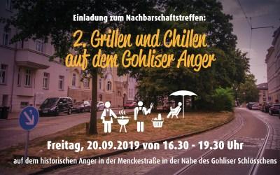 Grillen und Chillen auf dem Gohliser Anger 2019