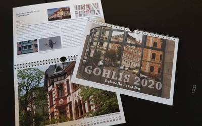 Reizvolle Fassaden: Unser Kalender – für Ihre Wand!