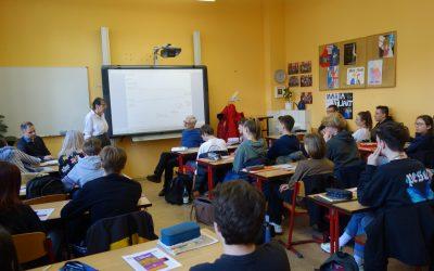 Zeitzeugen-Projekt in der Schillerschule: 30 Jahre Wende und Einheit – erlebte Geschichte in Gohlis