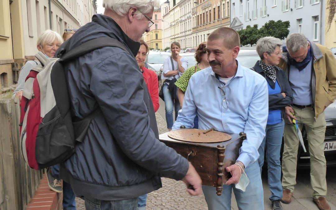 Gestanzte Musik: Veranstaltungen rund um die in Gohlis erfundene Lochplatte
