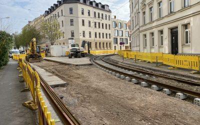 Gohliser Baugeschehen – vom KiTa-Neubau bis zur Straßenbahnkurve