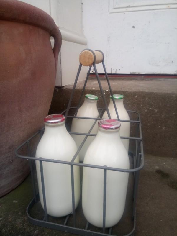 Delivered milk