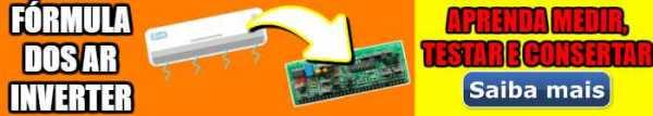 Curso Fórmula dos ar condicionados inverter - Clique Aqui >>