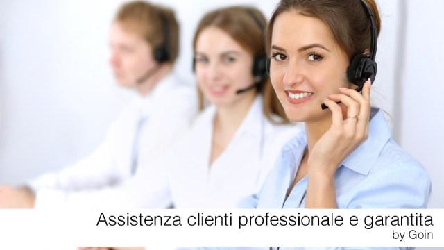 Assistenza telefonica garantita