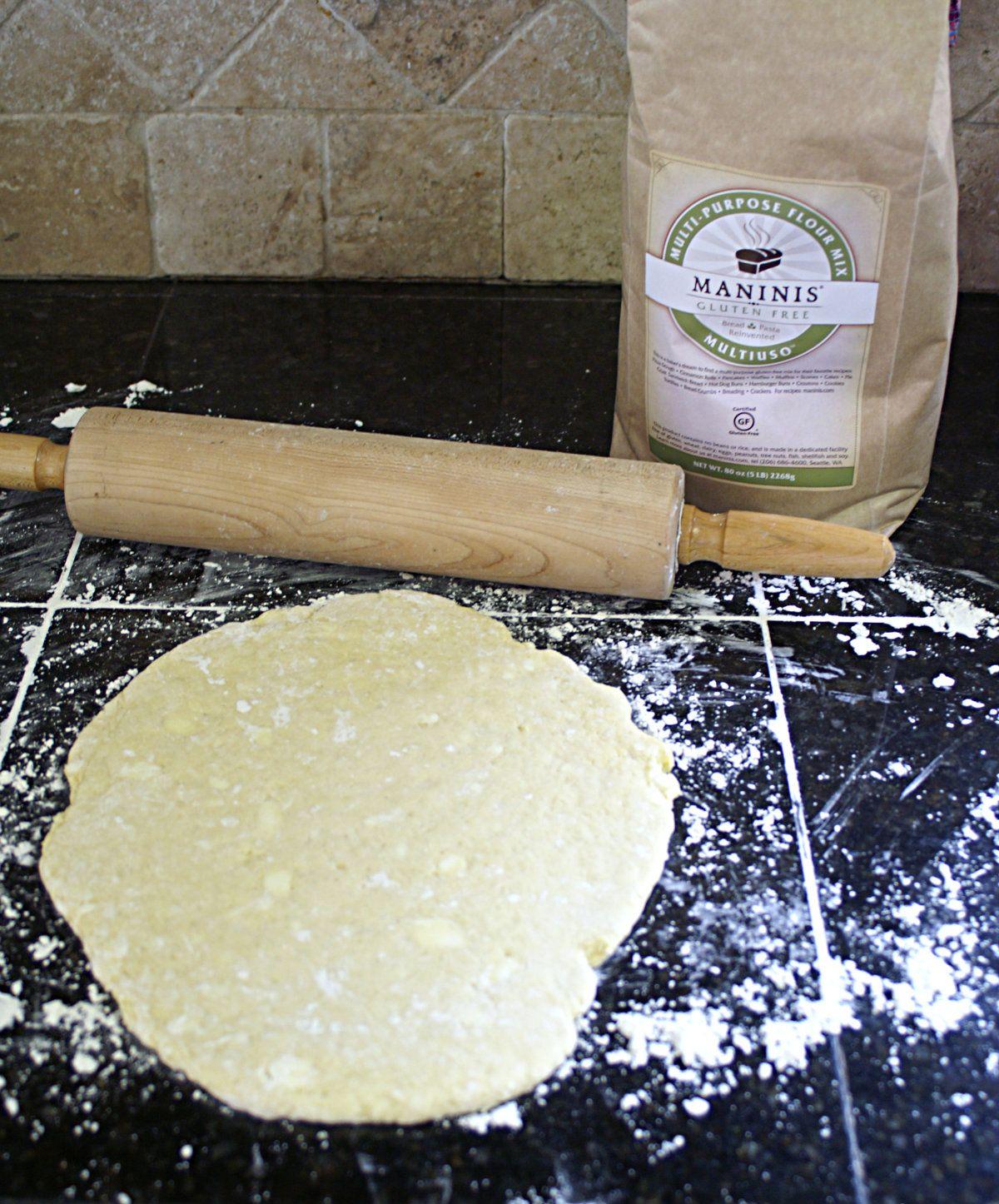 Rolling dough 1200