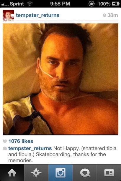 Someone's screenshot of Templeton's farewell post.