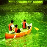 Canoeing at Carburn Park