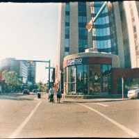 Around Town with the Diana Baby 110