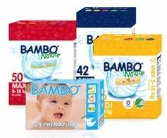 pannolini ecologici usa e getta Bambo Nature