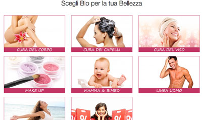 Shop online BellaNaturale
