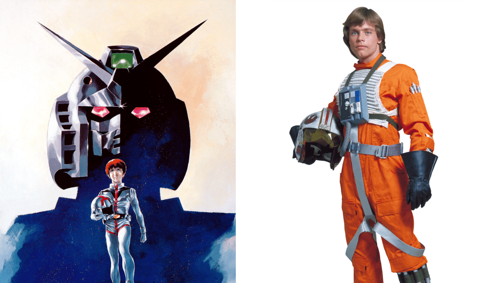 Amuro Ray and Luke Skywalker are basically the same character
