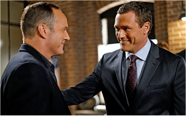 Jeffrey Mace and Phil Coulson