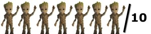 7/10 Baby Groots