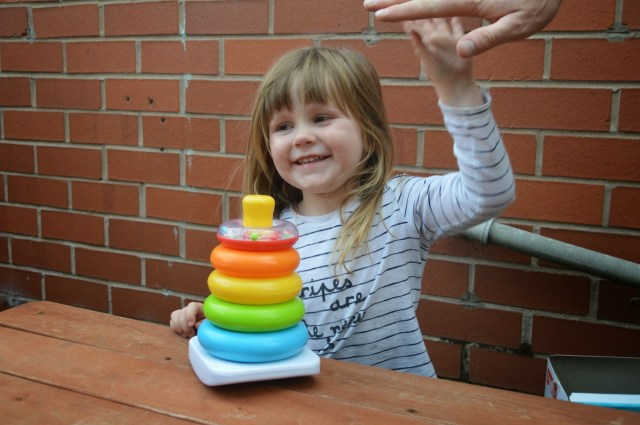 Fisher-Price stacking toy