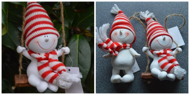 The Christmas Boutique - snowman tree decorations