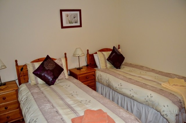 Coed Gelert Holiday Cottages - twin room 2