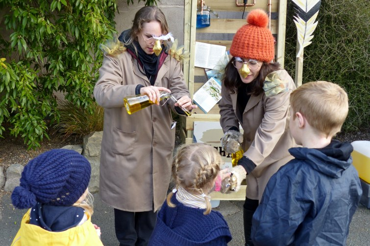 The Enchantment of Chester Zoo - Collecting magic potions