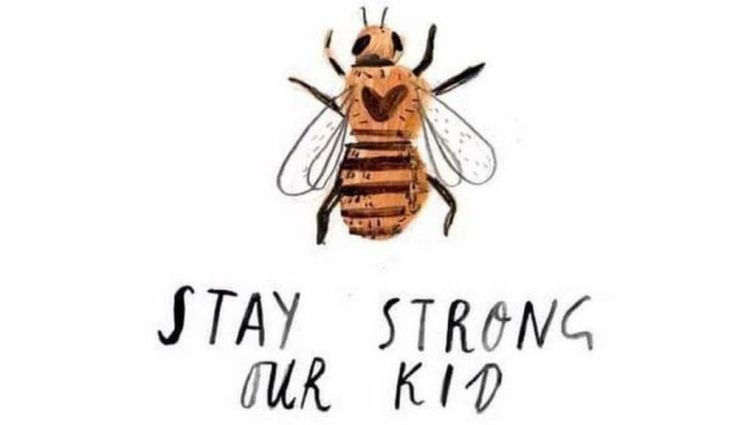 Stay Strong Our Kid - Manchester Bee