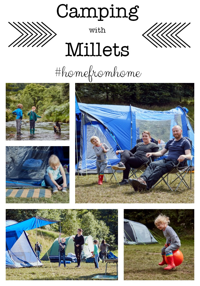 Camping with Millets in the Peak District - Eurohike Bowfell 600, 6 man tent with extension