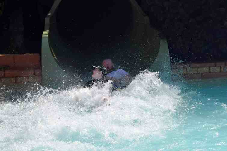 Siam Park - two person water slides (Jungle Snakes)