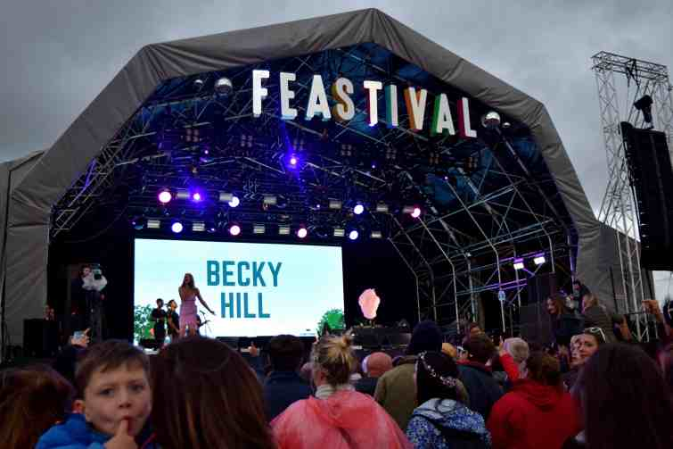 The Big Feastival 2018, Main Stage- Becky Hill
