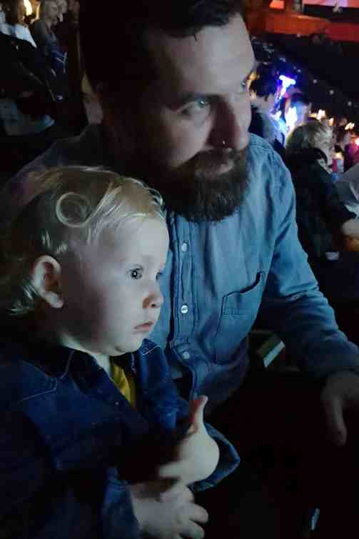 Disney on Ice Dream Big, little boy mesmerised by Moana