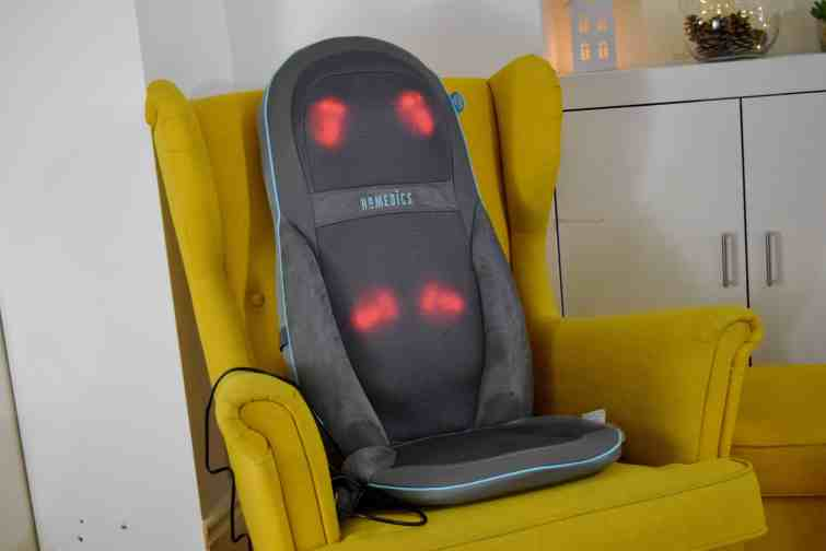 Homedics chair with heat