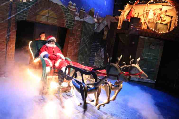 Raymond Brigg's Father Christmas on stage