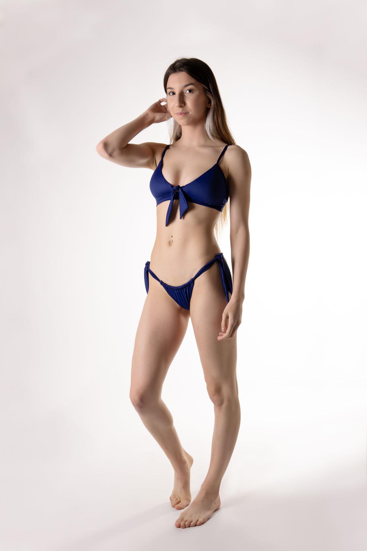 Braga bikini fruncido tanga