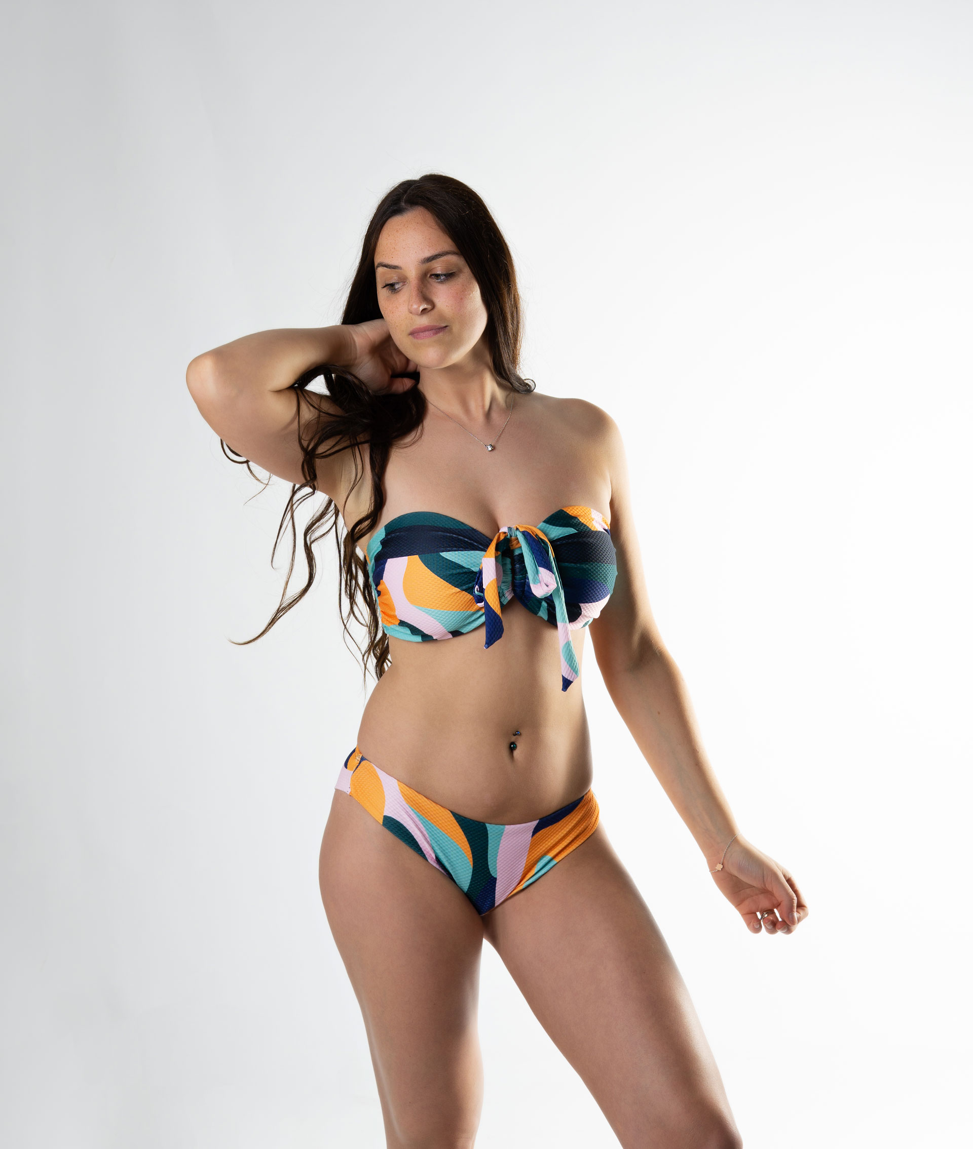 Bandeau bikini copa D