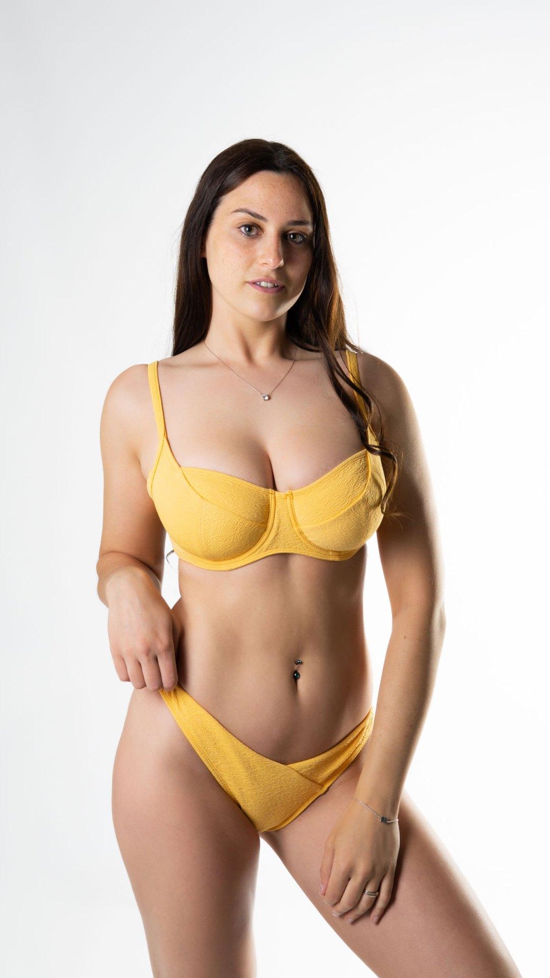 Bikini reductor sujetador copa D