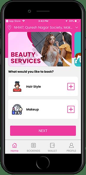 beauty on demand app