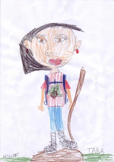 """Tarina prva inspirirana je mamom koja u majci HPD """"Željezničar"""" s ruksakom na leđima pozira novopečenoj planinarki dan nakon izleta na Lipu na Medvednici"""
