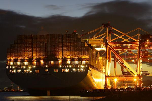 Emma Maersk Gece