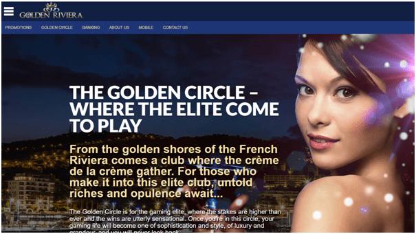 Golden Riviera casino VIP