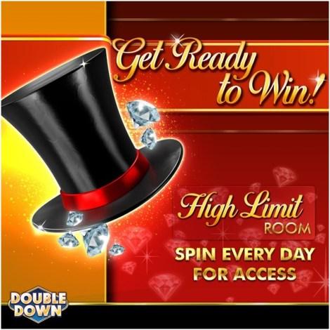 Hoe krijg ik toegang tot de High Limit Room bij Double Down Casino